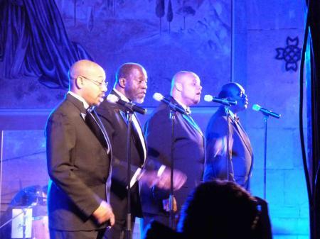 Le Golden Gate Quartet – mercredi 12 et jeudi 13 décembre / Egli
